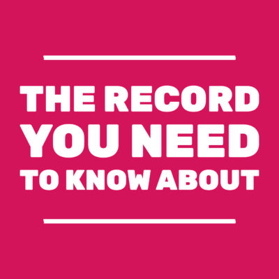 The Record You Need To Know About
